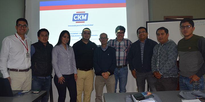 """CKM Perú presenta programa de capacitaciones """"CKM  IN COMPANY"""""""