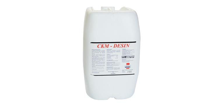 Evaluación del efecto residual de CKM-DESÍN para uso en pediluvios